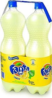 Fanta limón - Pack de 2 botellas x 2 litros