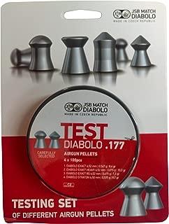 JSB Diabolo Exact Test Air Gun Pellets .177 Cal, 8.4 Grains, 400ct