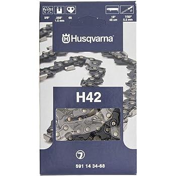 44 42 41 38 40 2 x Sägekette 45 cm 3//8 x 1,5 für Kettensäge Husqvarna 36