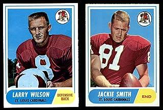 1968 Topps St. Louis Cardinals Football Team Set St. Louis Cardinals-FB (Baseball Set) Dean`s Cards 6 - EX/MT Cardinals-FB