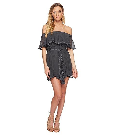 JEN'S PIRATE BOOTY Senorita Mini Dress, Faded Black