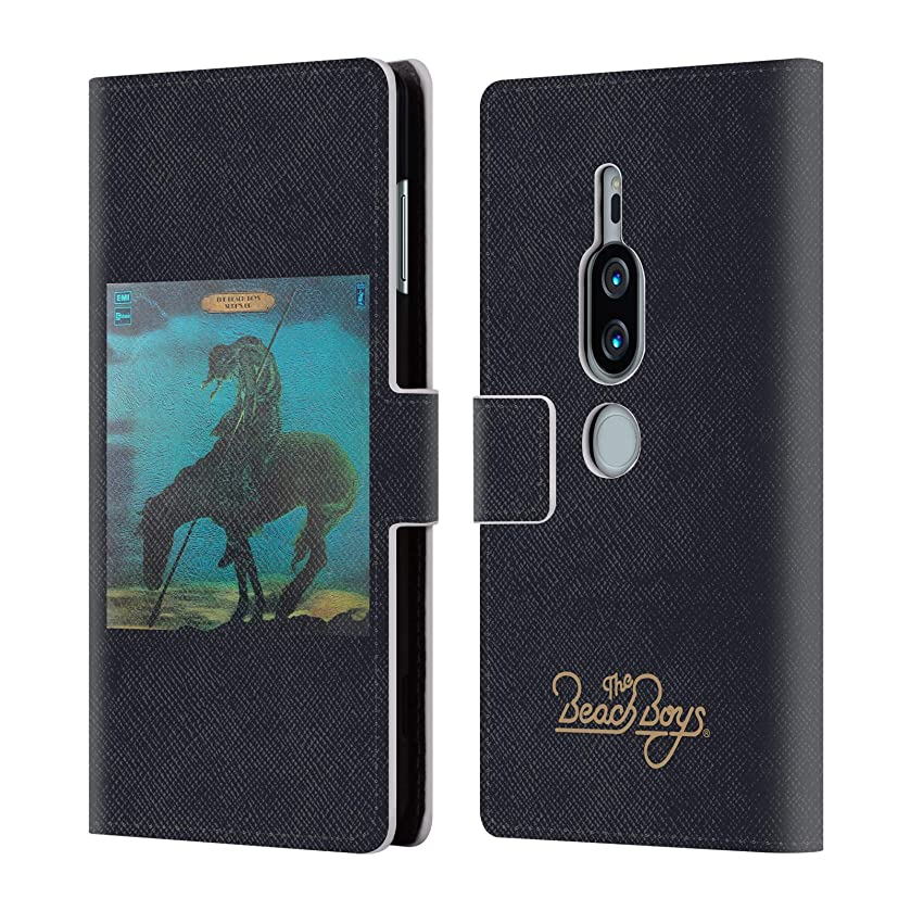 Official The Beach Boys Surfs Up Album Cover Art Leather Book Wallet Case Cover for Sony Xperia XZ2 Premium