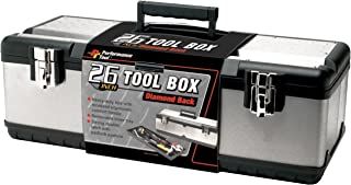 Performance Tool W54026 26 Inch Steel Tool Box with Removable Tote