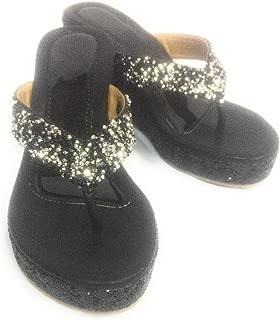 Wedge Heels and Comfortable Black