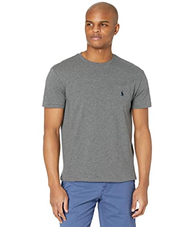 Polo Ralph Lauren Classic Fit Pocket Tee (Fortress Grey Heather) Men
