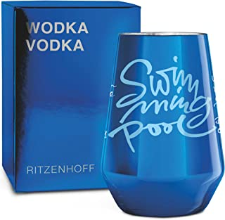 RITZENHOFF Next Vodka Vodkaglas von Claus Dorsch, aus Kristallglas, 300 ml