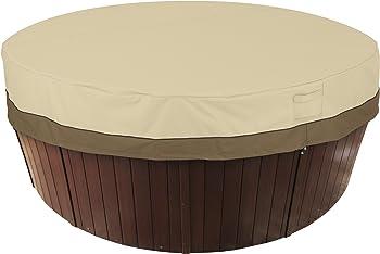 Classic Accessories Veranda Water-resistant Round Hot Tub Cover