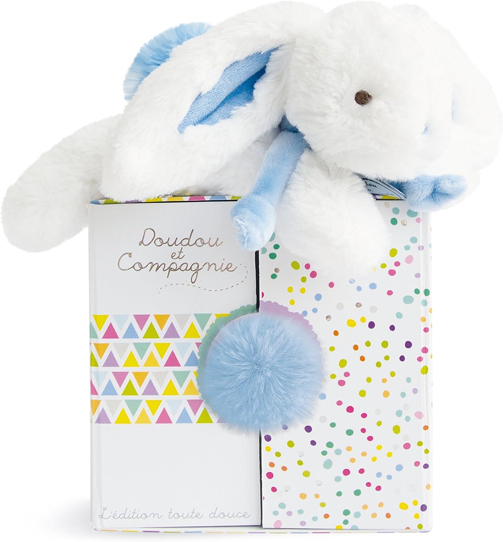 Doudou et compagnie   Pastel bluee Bunny 20 cm