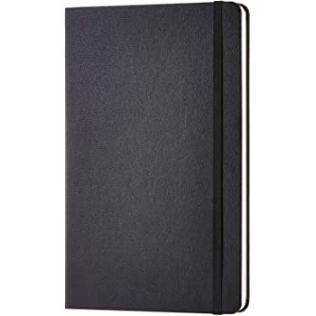 AmazonBasics Classic Grid Notebook, 240 Pages, Hardcover - Squared