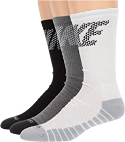 Dry Knurling Crew Training Socks 3-Pair Pack