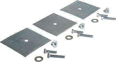 Vestil SB-48-GDK 3-Hole Speed Bump Glue-Down Hardware Kit for Speed Bump