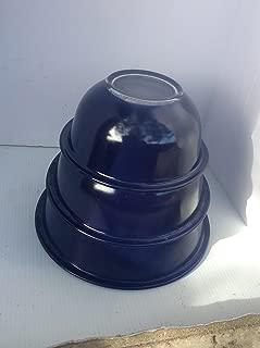 Vintage Pyrex Blue