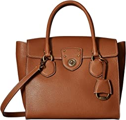 LAUREN Ralph Lauren Millbrook Flap Satchel Large