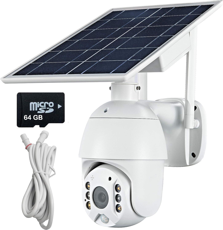 4G LTE Security Camera Outdoor Pan Las Vegas Mall Seasonal Wrap Introduction Powered 1080P Solar Battery