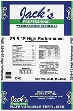 product image for J R Peters Inc Jacks Prof 77900 High Performance Fertilizer, 25-5-15 Fertilizer, 25-Pound