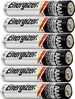 Energizer 6 NEW AAAA Batteries