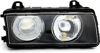 lentes de vidrio calculado THG 1 par de luz de niebla delantera izquierda y derecha H1 Base para E36 1992-1998 sin bulbo incluido