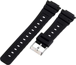 Hadley-Roma MS3210RA 160 16mm Polyurethane Black Watch Strap