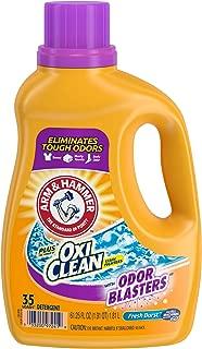 Arm & Hammer Laundry Detergent Odor Blasters Plus Oxiclean, Fresh Burst, 61.25 Fluid Ounce