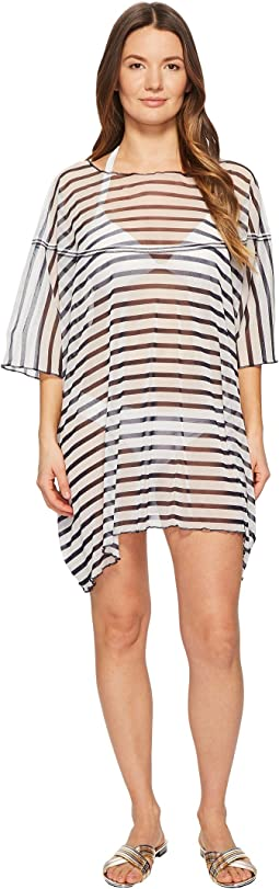 FUZZI Poncho Dress