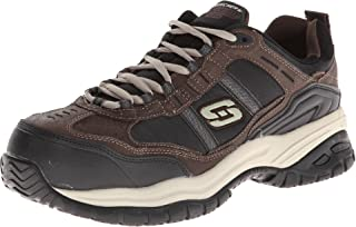 Skechers for Work Men's Soft Stride Grinnel Slip Resistant Work