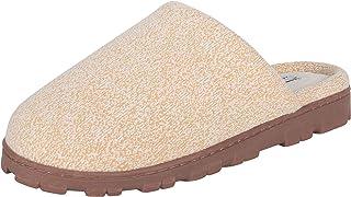 Women's Casual Indoor/Outdoor Slide-On Clog Slipper with Memory Foam