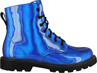 Best holographic boots girls Reviews