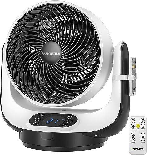 new arrival VIVOSUN Remote online Control Air lowest Circulator Strong Wind Room Floor Fan, ETL Certified outlet online sale