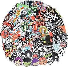 تابلوچسبها باند 100 عدد تابلوچسبها موسیقی راک و رول، تابلوهای ضد آب وینیل برای شخصی سازی لپ تاپ، ارگان الکترونیکی، گیتار، پیانو، کلاه، اسکیت بورد، چمدان گرافیتی Decals (تابلوچسبها - 1)