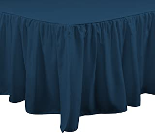 Brielle 807000214174 Stream Bed Skirt, King, Teal