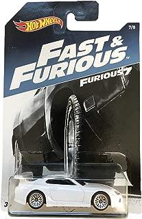 Mattel Hot Wheels Fast & Furious 7 White 94 Toyota Supra 7/8
