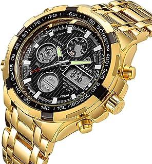 Watch,Men's Fashion Luxury Chronograph Sports Watches,Waterproof Analog Quartz Wrist Watch