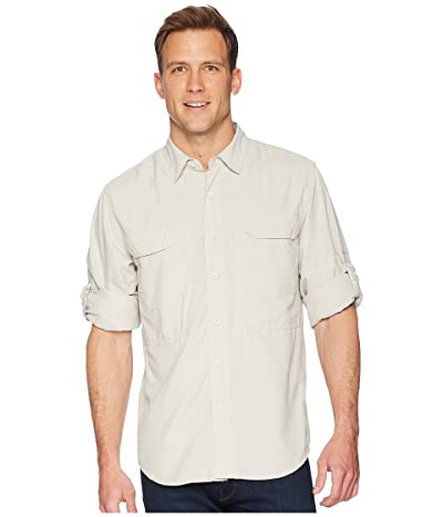 Royal Robbins Bug Barrier Expedition Long Sleeve Shirt (Soapstone) Men