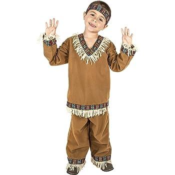 Dress Up America Disfraz de Guerrero Indio: Amazon.es: Juguetes y ...