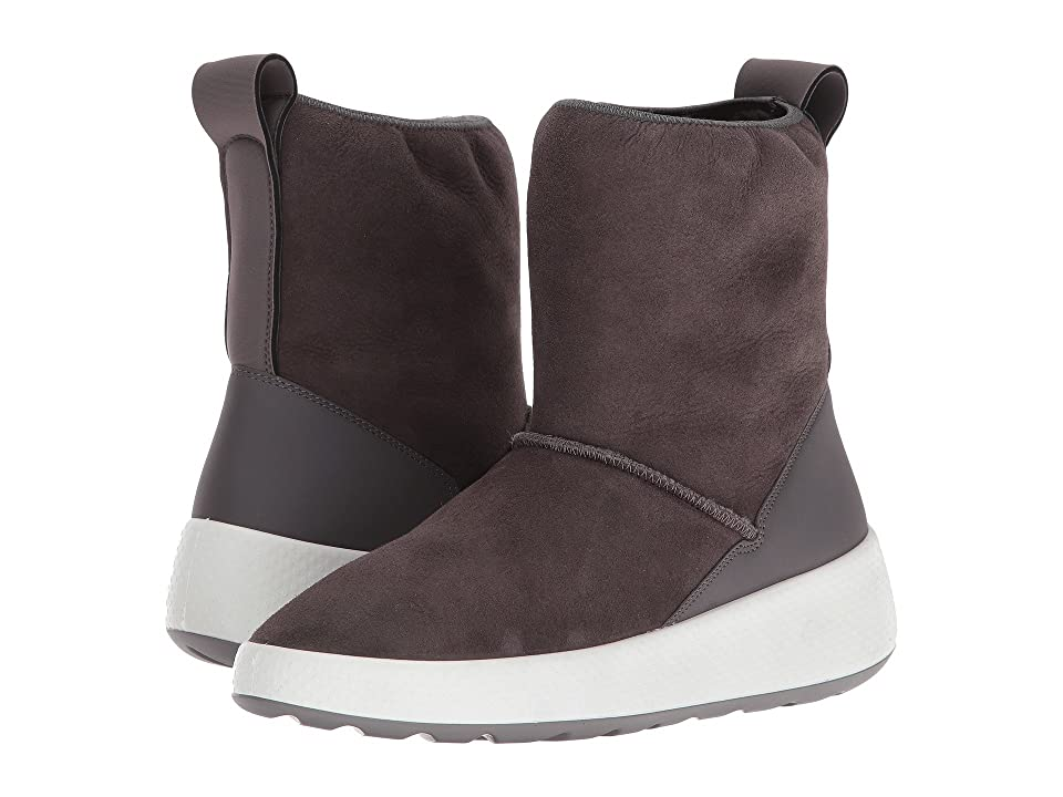 ECCO Ukiuk Short Boot (Slate/Slate) Women