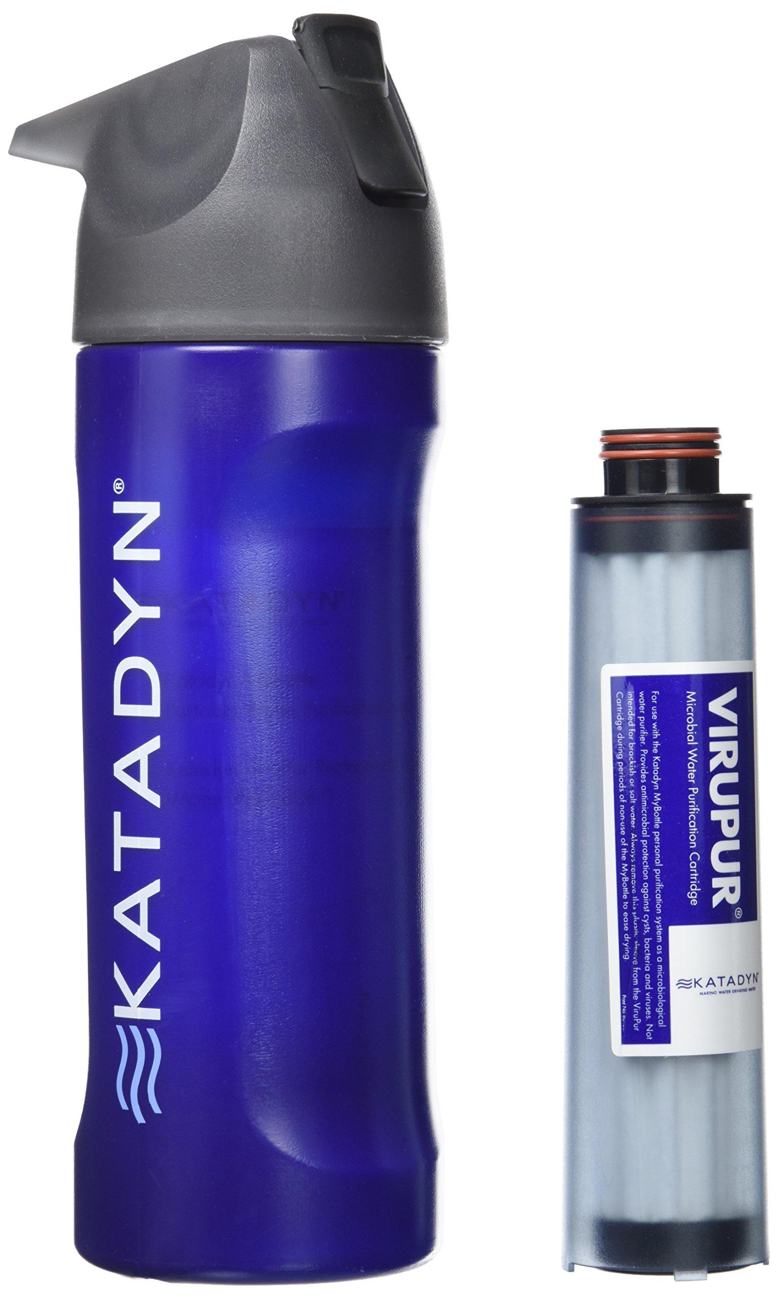 KATADYN Mybottle - Purificador de Agua Azul Blue Splash Talla:Talla única: Amazon.es: Deportes y aire libre