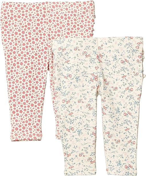 Dark Vanilla Maude Floral/Very Berry Edith Floral