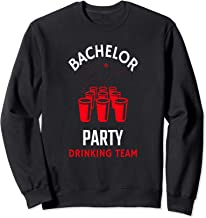 Groomsmen Bachelor Engagement Stag Party Graphic Gift Sweatshirt