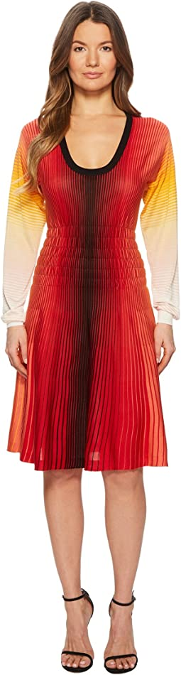 Sonia Rykiel - Rainbow Silk Dress