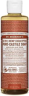 Dr. Bronner's Pure-Castile Liquid Soap – Eucalyptus - 8 Ounce