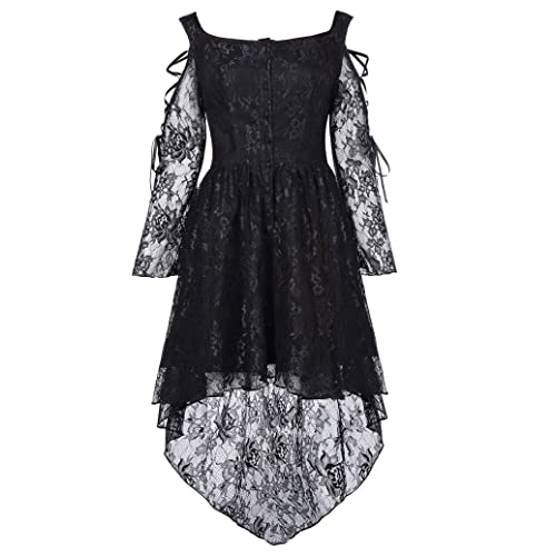 79efda0474 Belle Poque Women Steampunk Gothic Victorian Lace Dress Amelia Style BP350
