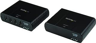 StarTech.com 4 Port USB 2.0 over Gigabit LAN or Direct Cat5e / Cat6 Ethernet Extender System - up to 330 ft (100m) - USB 2.0 Extender (USB2G4LEXT2)