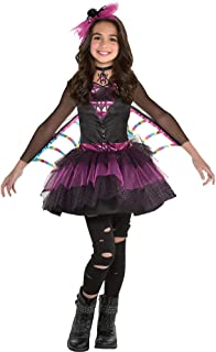 amscan Girls Miss Wicked Web Spider Costume - Small (4-6), Multicolor