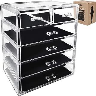 Best acrylic 6 drawer organizer Reviews