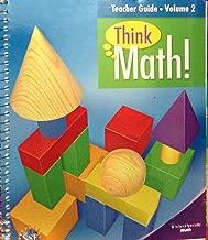 Think Math Teachers Guide Volume 2 Grade 3