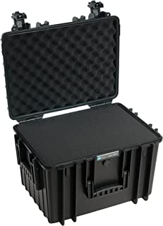 B&W International 5500/B/SI 5500 Outdoor Case with SI Foam Durable Type, Black