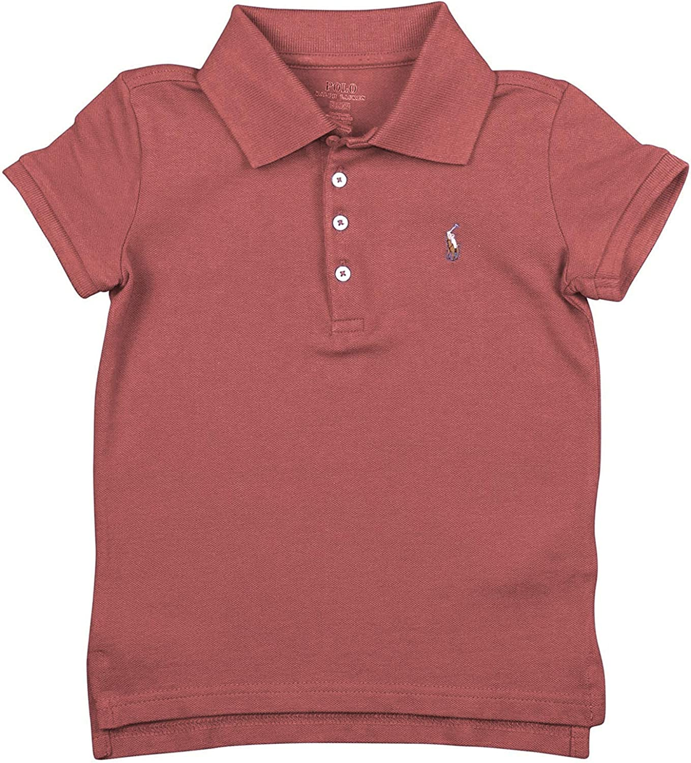 Polo outlet Ralph Lauren Toddlers Girls Lig Shirt 100% Mesh Max 61% OFF Cotton