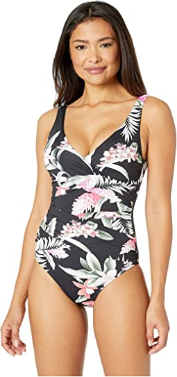 Gingerflower Underwire Over the Shoulder One-Piece