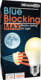 Miracle LED 604670 12W Blue Blocking MAX Light, Single-Pack, 100W Replacement