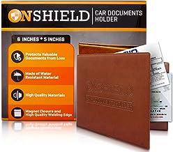 Amazon Com Registration And Insurance Card Holder